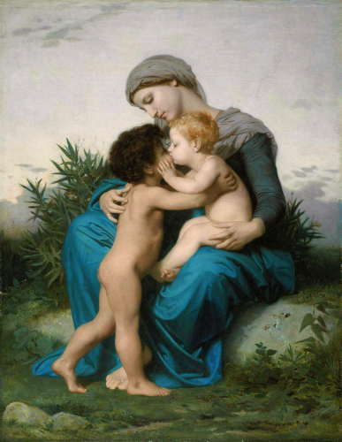 Amour fraternelWilliam-Adolphe_Bouguereau_(1825-1905)_-_Fraternal_Love_(1851).png
